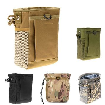 New Military Molle Ammo Pouch Pack Tactical Gun Magazine Dump Drop Reloader Pouch Bag Utility Hunting Rifle Magazine Pouch