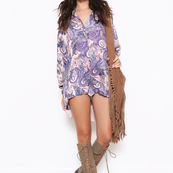 Fortune Teller Romper by The Jetset Diaries