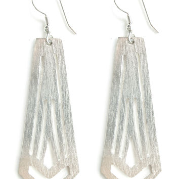 Artemis Earrings in Silver