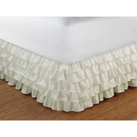 Walmart: Multi-Ruffle Bed Skirt