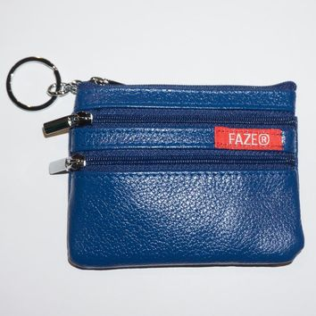FAZE Coin Pouch in royal blue
