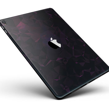 """Muted Dark Abstract Geometric Shapes Full Body Skin for the iPad Pro (12.9"""" or 9.7"""" available)"""