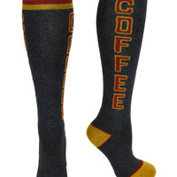 Coffee Lover Drinker Athletic Knee Socks Alternative Gift Clothing