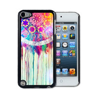 iPod 5 Touch Case - Thin Shell Plastic Case iPod Touch 5G Case - Dream Catcher Painting