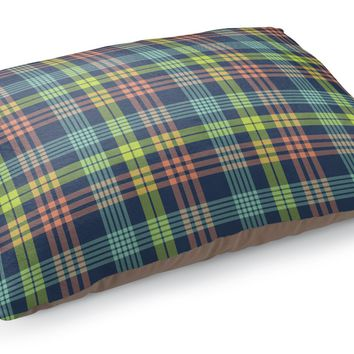 BOOK PLAID Pet Bed By Northern Whimsy