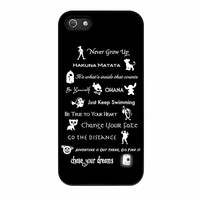 Disney Lessons Learned Mashup iPhone 5s Case