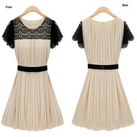 CHIFFON DRESS SUMMER LACE DRESS
