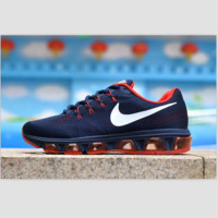 NIKE Women Men Running Sport Casual Shoes Sneakers Dark Blue