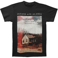 Oceans Ate Alaska Men's  I'm Not Dead T-shirt Black Rockabilia