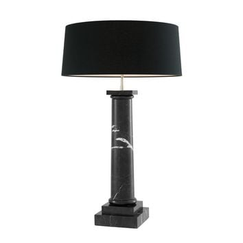Black Marble Table Lamp | Eichholtz Kensington
