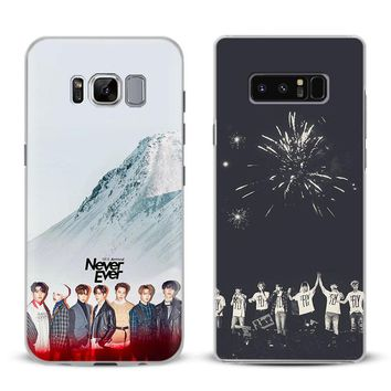 GOT7 KPOP Boy Group Phone Case Cover Shell For Samsung Galaxy S4 S5 S6 S7 Edge S8 S9 Plus Note 8 2 3 4 5 A5 A7 J5 2016 J7 2017