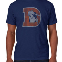 Men's Denver Broncos Legacy Scrum Tee By '47 Brand