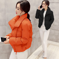 Winter Padded Plus Size Cotton Jacket [8895736134]