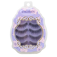 Hot Deal Thick Long Sexy Hot Sale Handcrafts Transparent Stalk Natural False Eyelashes [6532484359]