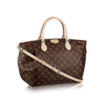 Authentic Louis Vuitton Monogram Canvas Turenne GM Tote Bag Handbag Article: M48815 Made in France
