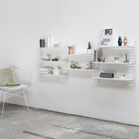 MONOQI | 3 Book Shelves - White