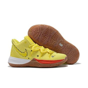 SpongeBob SquarePants x Nike Kyrie 5 ¡°SpongeBob¡± Men Sneaker Women Basketball Shoes