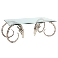 Vintage John Lyle Iridium Bronze Ibex Table