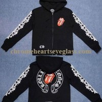 Red Tongue X Chrome Hearts Rolling Stones Hoodie [Chrome Hearts Rolling Stones Hoodie] - $189.00 : Chrome hearts online shop:chrome hearts jewelry 2012 collection!