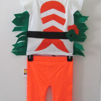 Kids Hallowen Costume 2 Toddler Adorable Sushi Fish Shirt and Pant set baby 24 months costume  Ready to Ship !