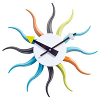 You should see this Rainbow Sunbeam Wall Clock on Daily Sales!