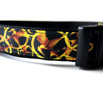 Hunger Games Dog Collar Adjustable Sizes (M, L, XL)