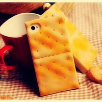 Biscuit Pattern Case for iPhone 4 and 4S