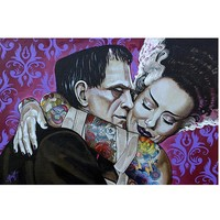 """""""Undying Love"""" Print by Lowbrow Art Company"""
