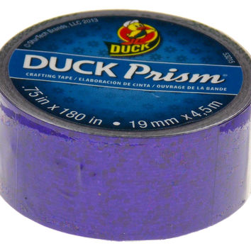 "Duck Prism Crafting Tape Purple Lot of 6 Rolls 0.75"" x 180"" Shurtech Brand Shiny"