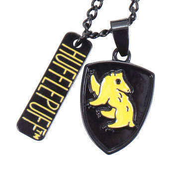Harry Potter Hufflepuff Charm Necklace