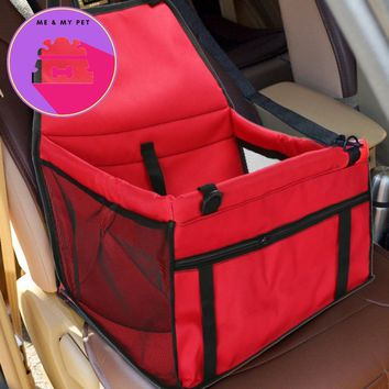 Pet Dog Carrier Car Seat Pad Safe Carry House Cat Puppy Bag Car Travel Accessories Waterproof Dog Seat Bag Basket Pet Products