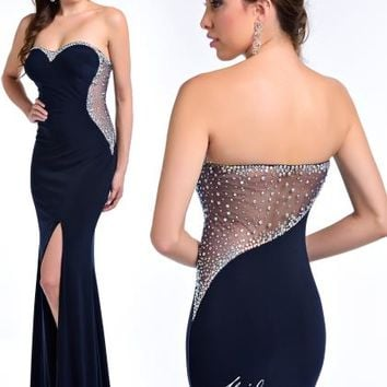 Milano Formals Prom Dresses E1778 at Prom Dress Shop