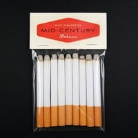 Mad Men Mid Century 50s Housewife Party Puff Cigarettes