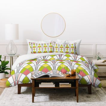Heather Dutton Arcada Citrus Duvet Cover
