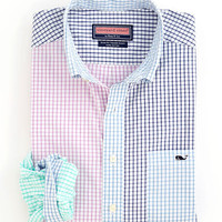 Men's Sport Shirts: Slim-Fit Party Tucker Shirt - Vineyard Vines