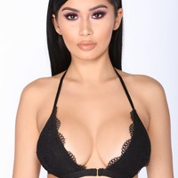 The Sweetest Thing Bralette - Black