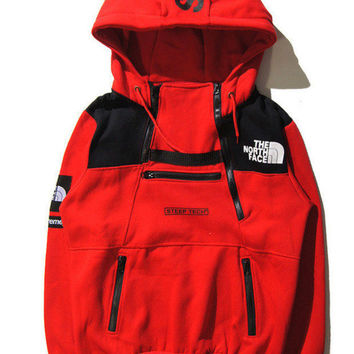 Trendy Unisex Supreme & The North Face Hoodies Pullover Sweaters Great Gifts