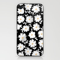 Daisies iPhone & iPod Skin by Leah Reena Goren