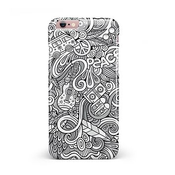 Hippie Dippie Doodles iPhone 6/6s or 6/6s Plus INK-Fuzed Case