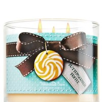3-Wick Candle Butterscotch Toffee