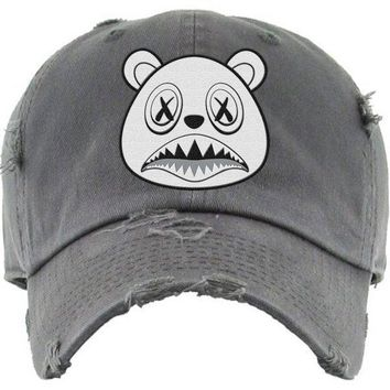 Ghost Baws Charcoal Dad Hat