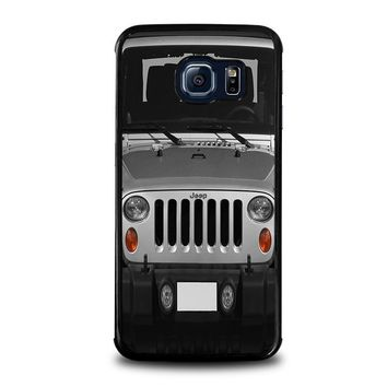 jeep samsung galaxy s6 edge case cover  number 1