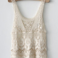 lace layered tank from storenvy.com