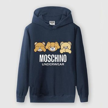 Boys & Men Moschino Fashion Casual Top Sweater Pullover Hoodie