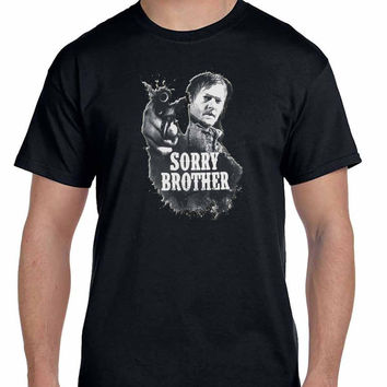 The Walking Dead Daryl Dixon Sorry Brother Mens T Shirt