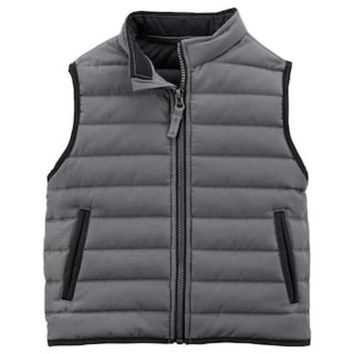 ESB7GX Baby Boy Carter's Quilted Vest | null