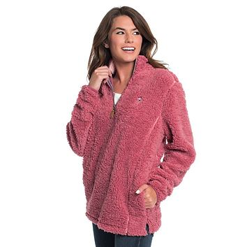 Sherpa Pullover with Pockets in Sonoma by The Southern Shirt Co.