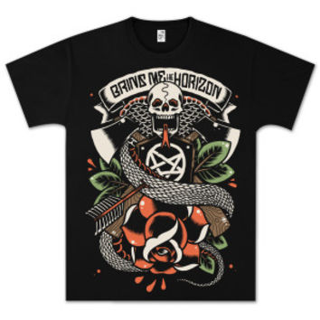 Bring Me The Horizon Snake From Hell T-Shirt