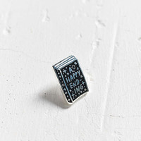 Adam J. Kurtz Happy Ending Pin - Urban Outfitters