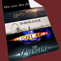 "Fandoms Harry Potter Sherlock Doctor Who Avengers Kids Blanket Game Blanket All Character Popular Game, Cute and Awesome Blanket for your bedding, Blanket fleece ""NP"""